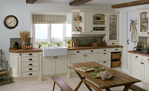 VICTORIA Oyster arched panelled door
