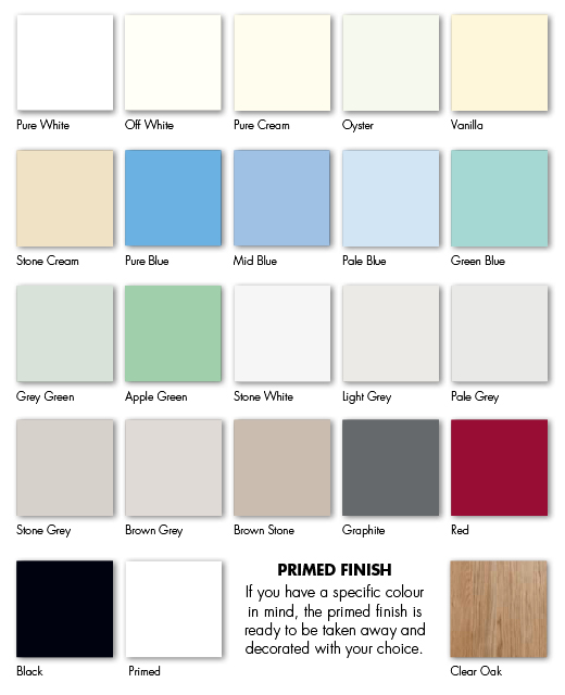 Cotswood crown for Paint charts for kitchens