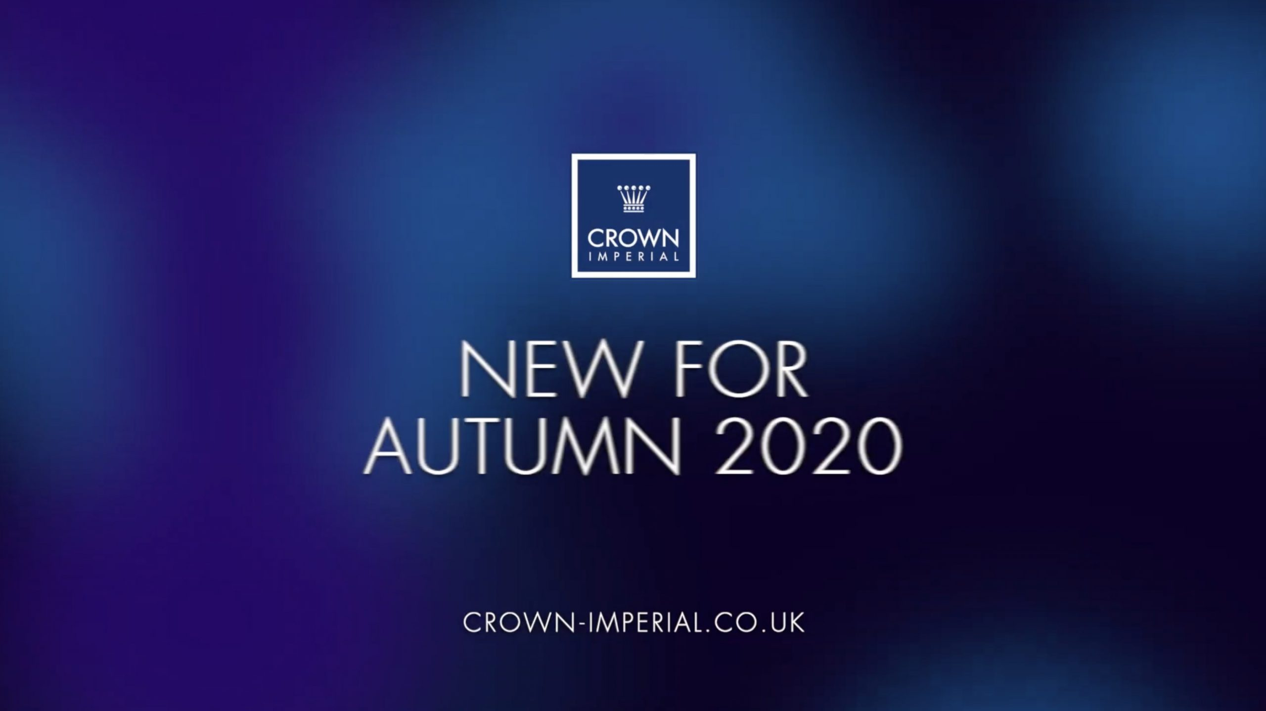 NEW FOR AUTUMN 2020